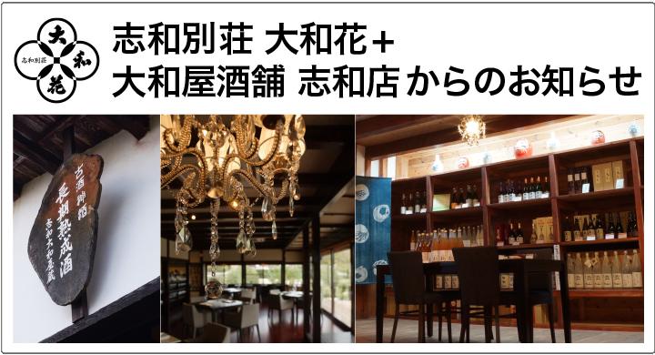 大和屋酒舗志和店・大和花ブログ